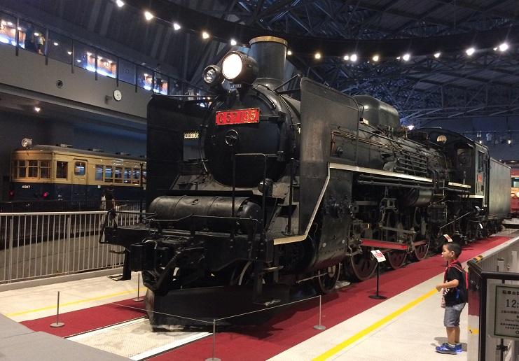 大宮にある鉄道博物館を見学してきました
